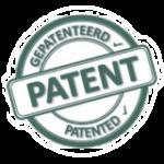Patent merk voordeurbeveiliger PNG