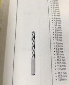 Spiraalboor 22mm